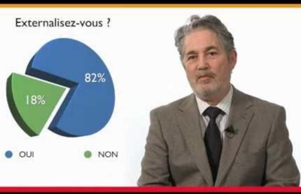 Les stratégies d'externalisation des entreprises françaises