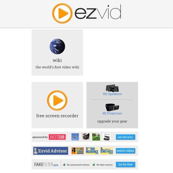 The Best Free Video Maker for YouTube » ezvid.com