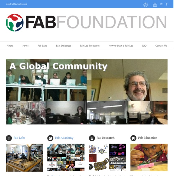 List of fablabs