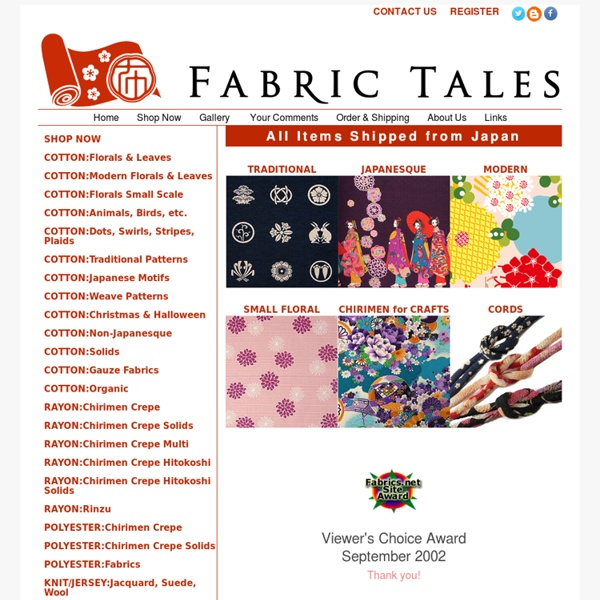 Fabric Tales - Japanese fabric