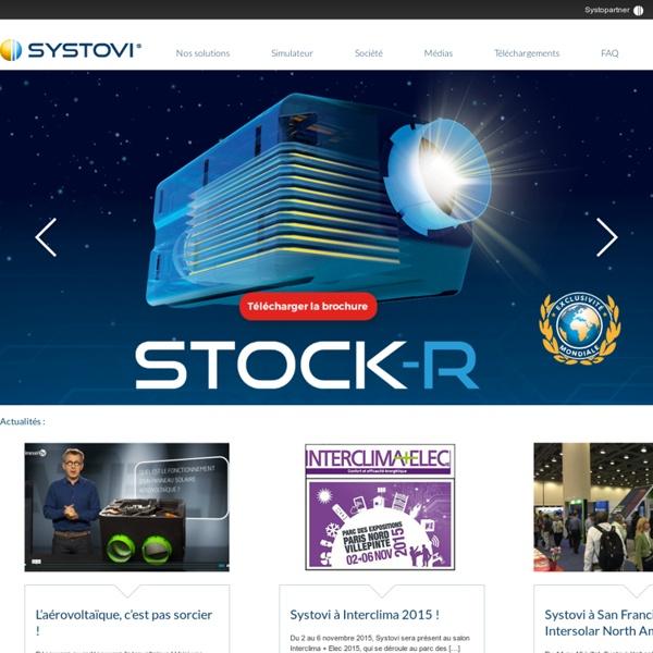 Systovi, créateur et fabricant français de solutions solaires innovantes