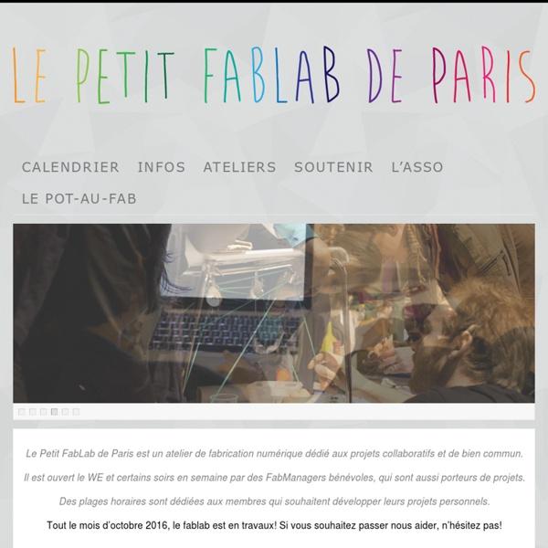 Atelier de fabrication numérique collectif et collaboratif