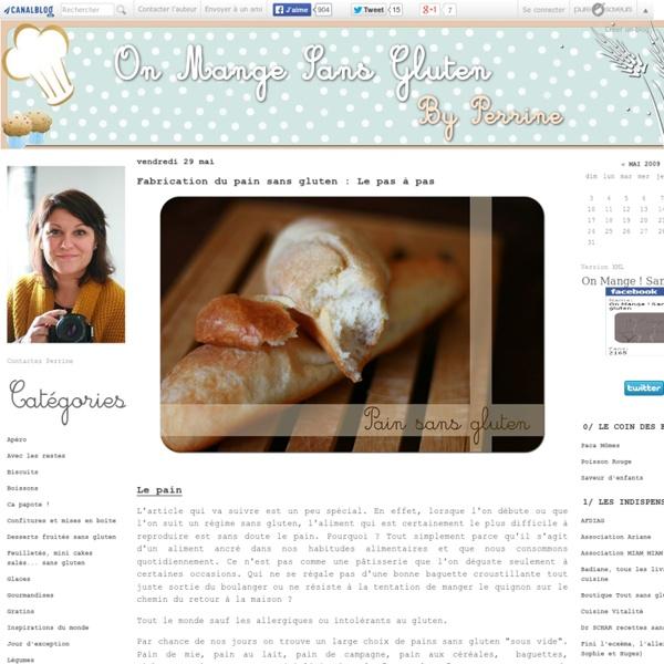 Fabrication du pain sans gluten : Le pas à pas