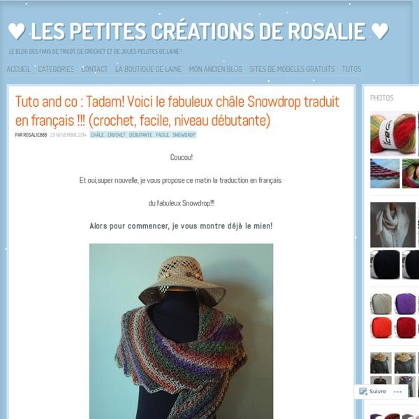 Snowdrop traduit en français