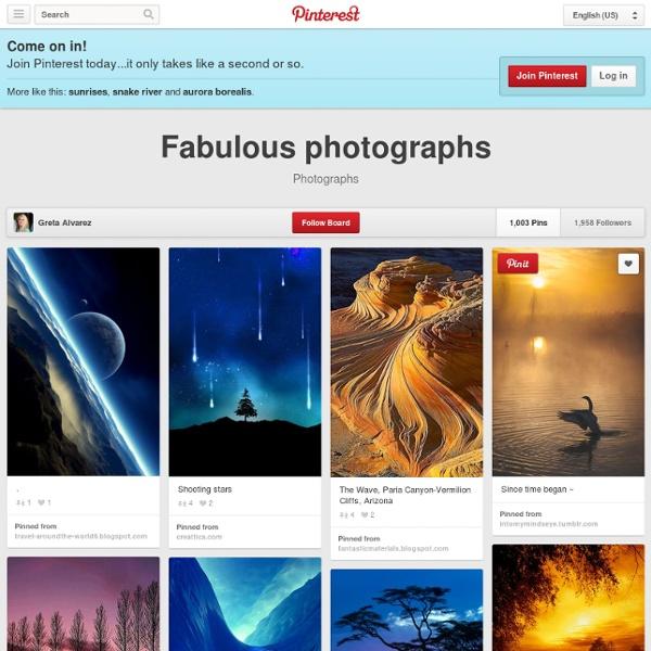 Fabulous photographs