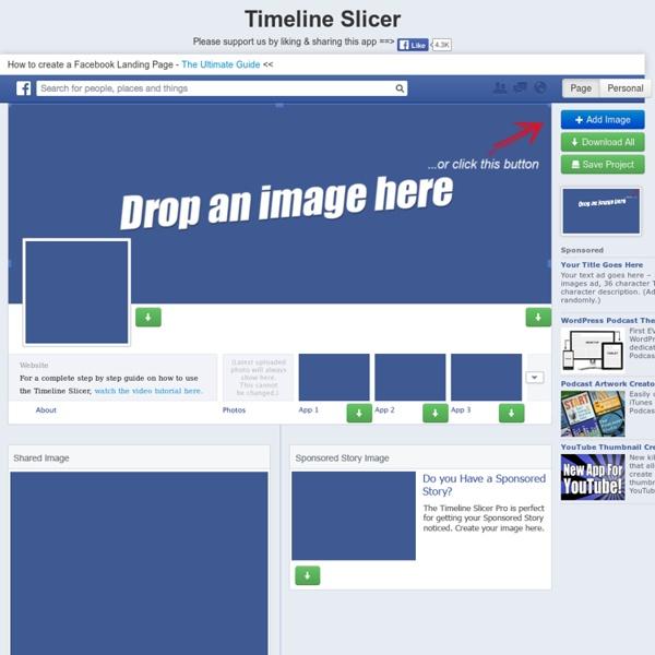 Facebook Timeline Slicer