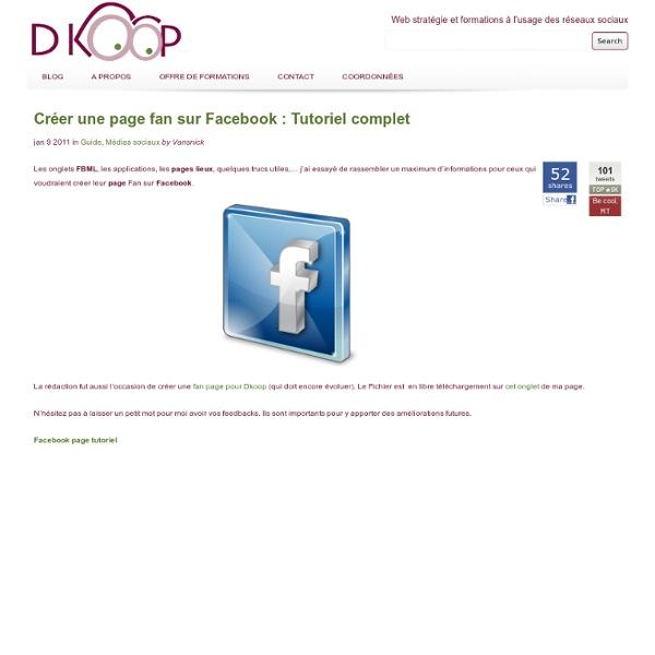 Entreprises, créez votre page Facebook avec ce tutoriel