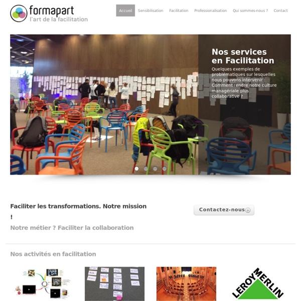 Formapart : Facilitation graphique et méthodes collaboratives