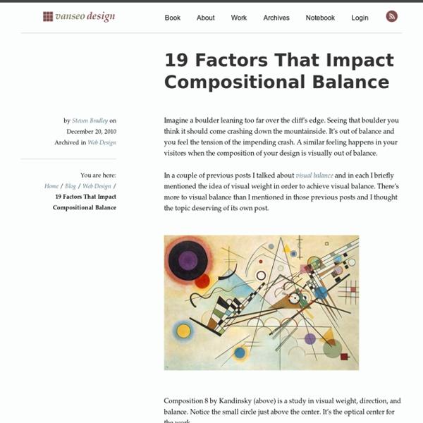 19 Factors That Impact Compositional Balance