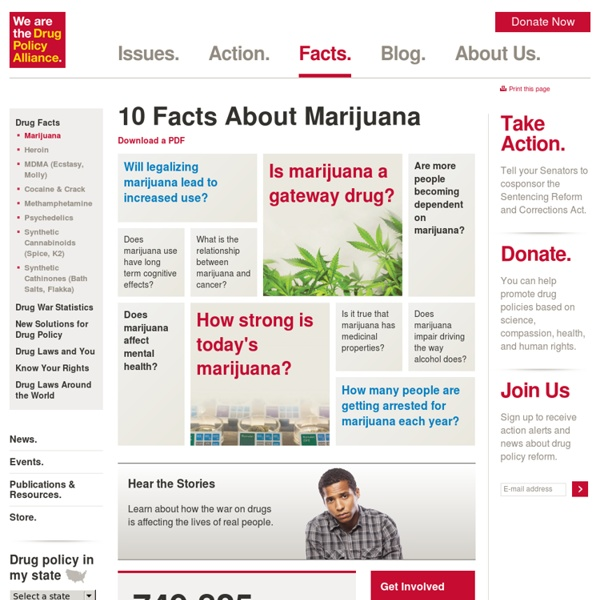 Marijuana Policy and Effects