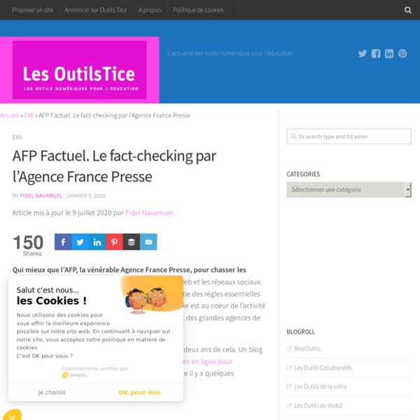 AFP Factuel. Le fact-checking par l'Agence France Presse