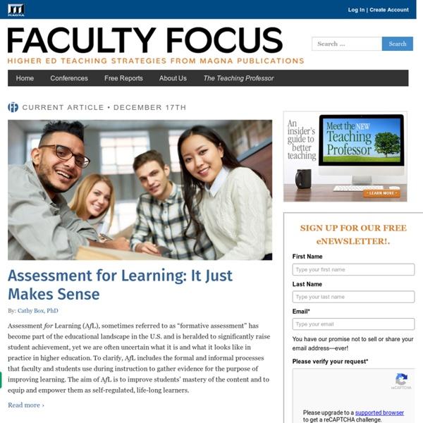Higher Ed Teaching & Learning