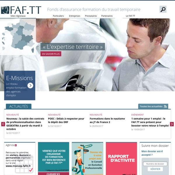 FAF.TT - Page d'Accueil - Accueil