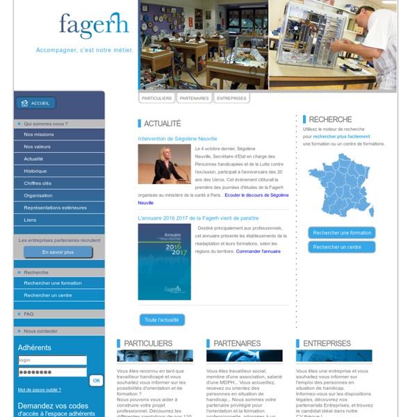 Fagerh - Accueil