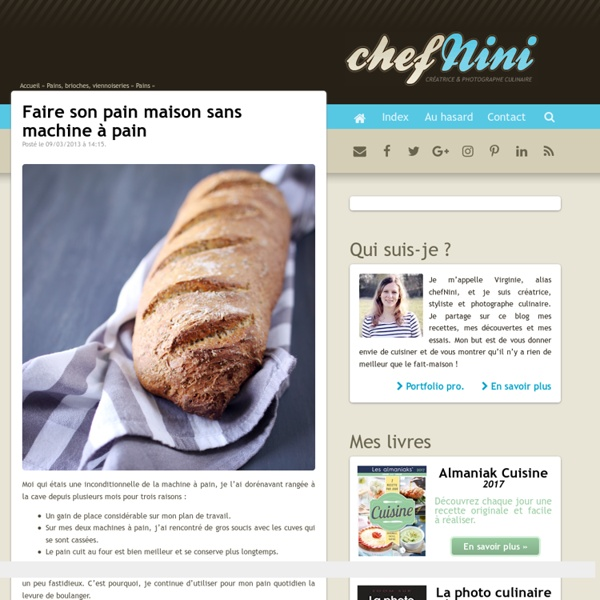 Faire son pain maison sans machine à pain