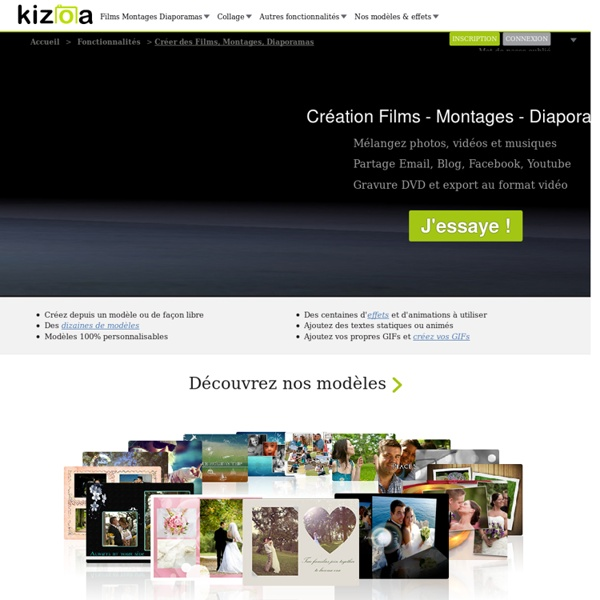 Montage video et diaporama en ligne