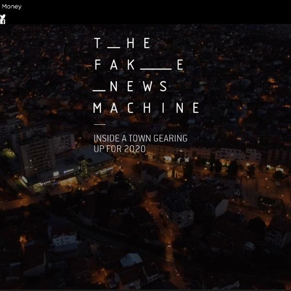 Veles, Macedonia one center producing fake news for $ ( 2 clicks)