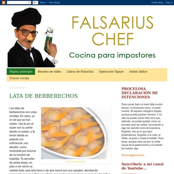 Falsarius Chef