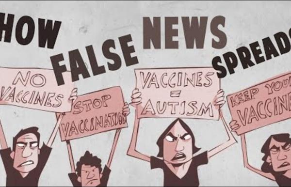 How false news can spread