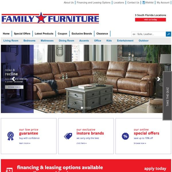 Furniture Store in West Palm Beach