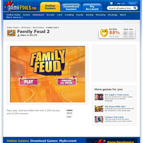 Images of Family Feud Free Online Game - #rock-cafe