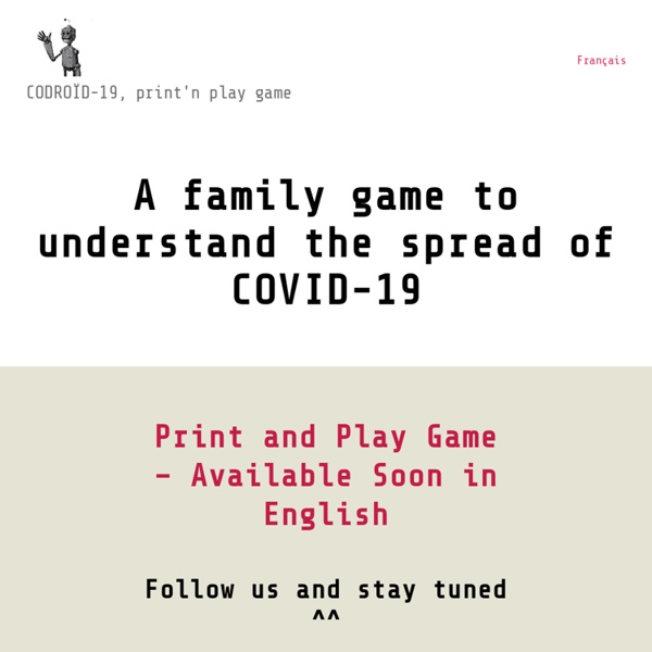 A family game to understand the spread of COVID-19
