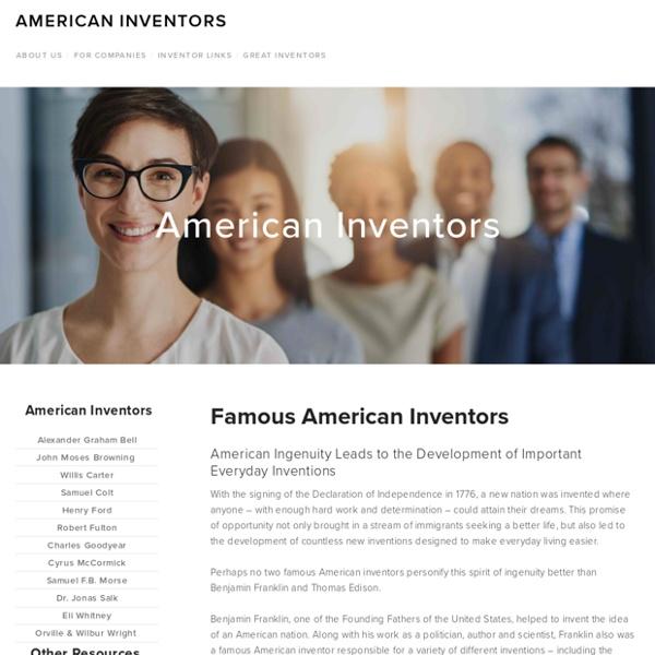 Famous American Inventors