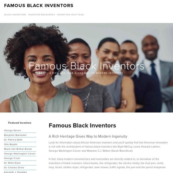 Famous Black Inventors