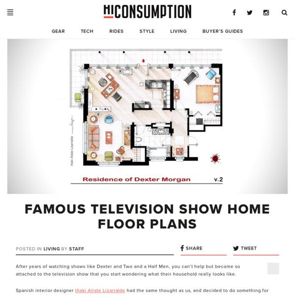 Famous Television Show Home Floor Plans