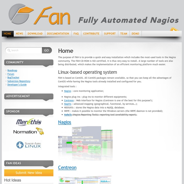 FAN « Fully Automated Nagios