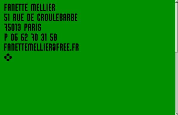 Fanette mellier .: graphiste :.
