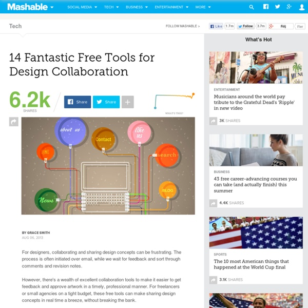 14 Fantastic Free Tools for Design Collaboration