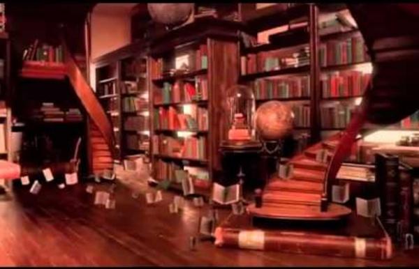 The Fantastic Flying Books of Mr Morris Lessmore Vencedor do Oscar.