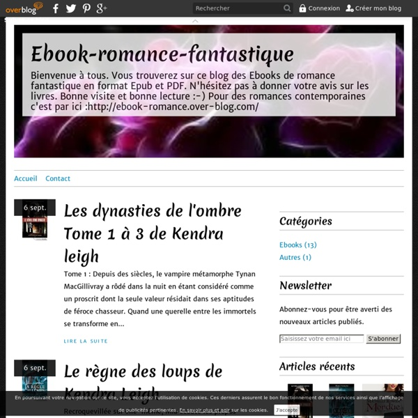 ebook fantastique