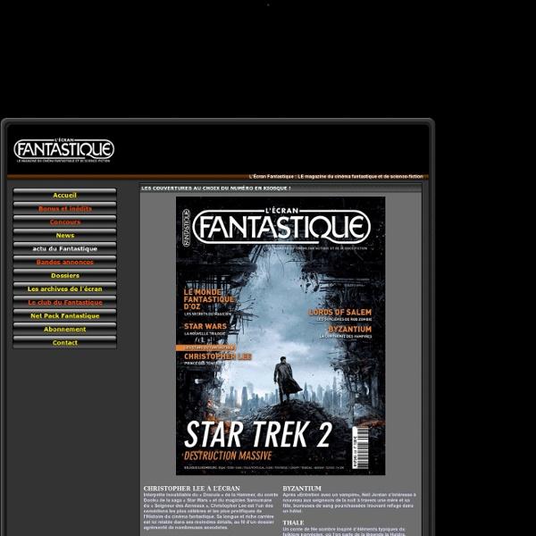 LE magazine du cinéma fantastique et de science-fiction
