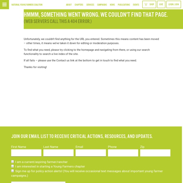 Farm Hack - National Young Farmers' Coalition : National Young Farmers' Coalition