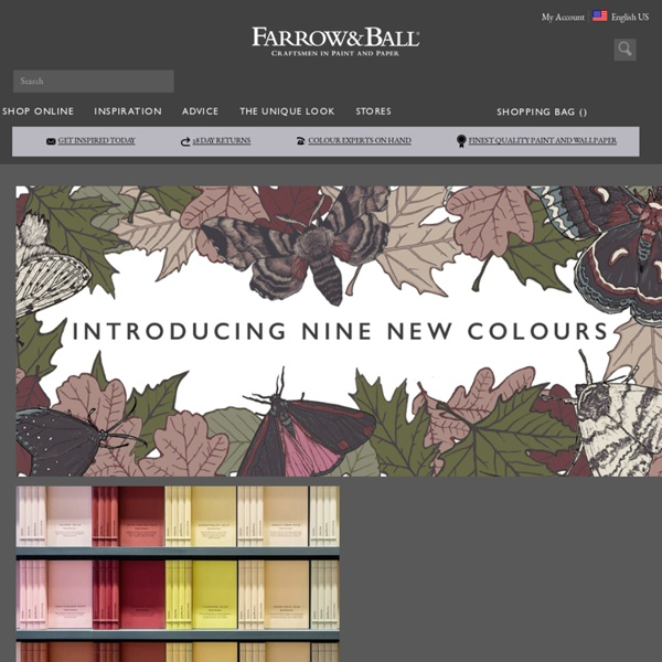 Farrow & Ball - Craftsmen in Paint and Paper