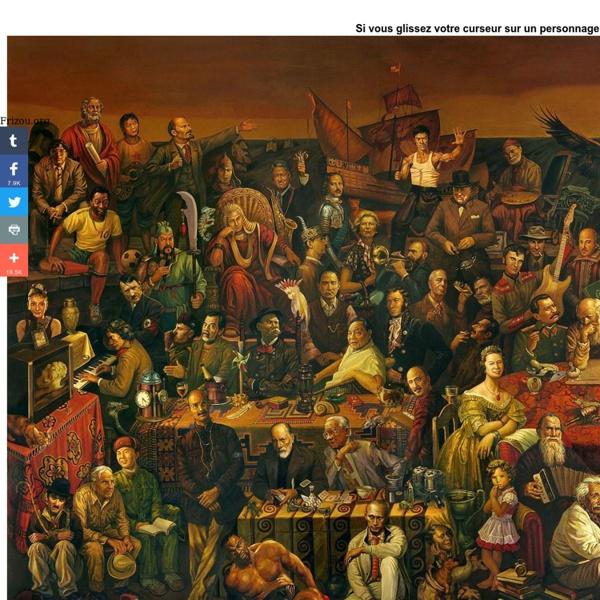 C'est la peinture la plus fascinante que j'aie vue. Cette image est totalement étonnante.