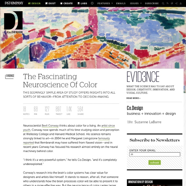 The Fascinating Neuroscience Of Color