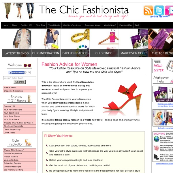 Current Fashion Trends, Shopping Tips & Chic Outfit Ideas