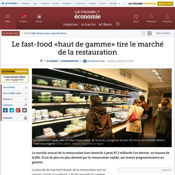 Le fast-food «haut de gamme» tire le marché de la restauration