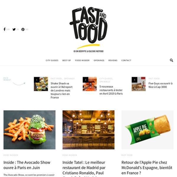 FastandFood : ici on decrypte la culture FastFood