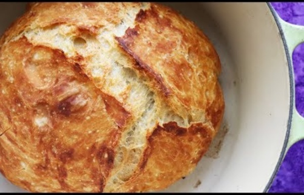 Faster No Knead Bread