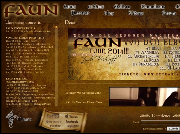 FAUN - medieval folk music - Official site