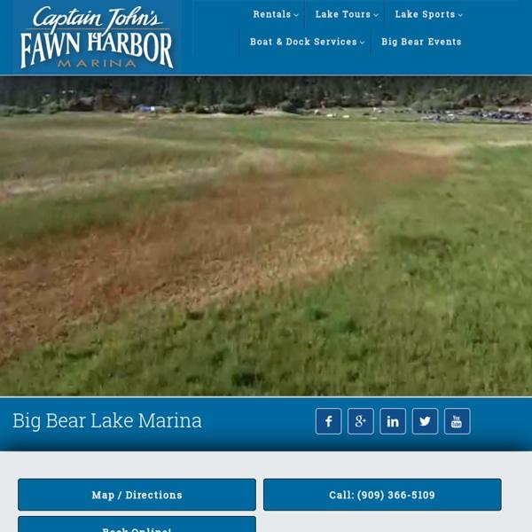 Captain John's Fawn Harbor & Marina - Fawnskin - Big Bear Lake Marina