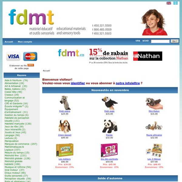La boutique FDMT