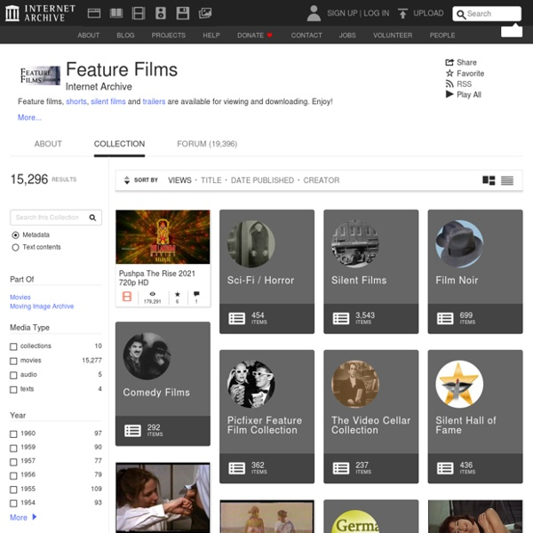 Feature Films : Free Movies : Download & Streaming
