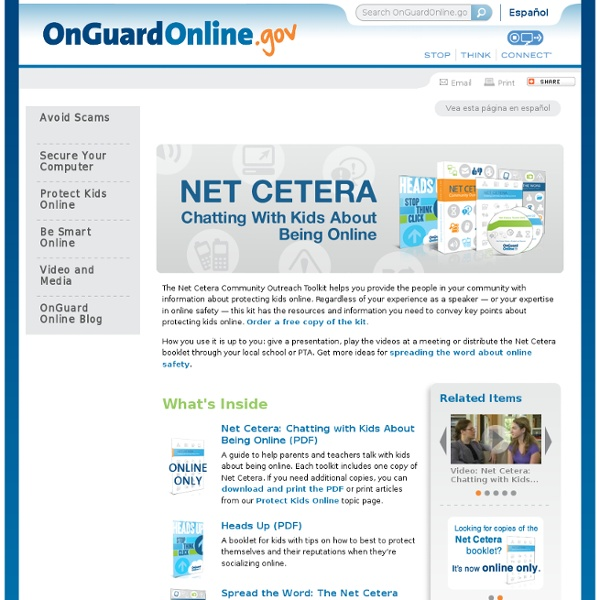 Featured: Net Cetera Toolkit