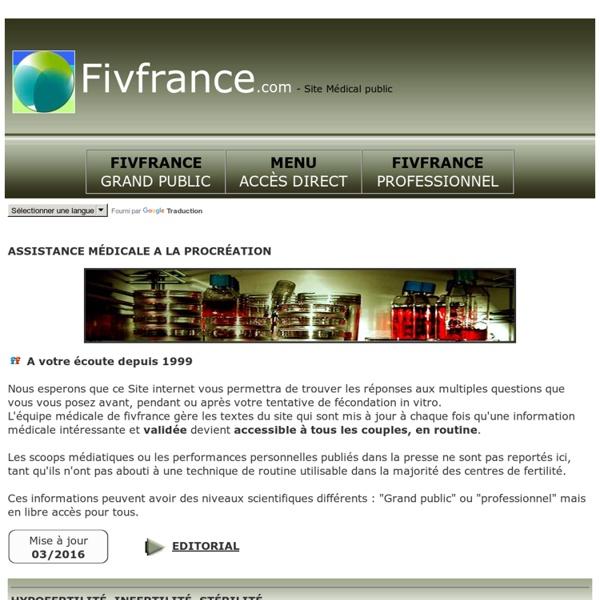 Bienvenue sur le site fivfrance