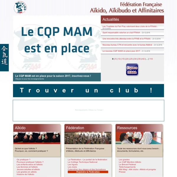 Fédération Française Aïkido, Aïkibudo et Affinitaires